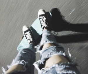 converse, grunge, and jeans image