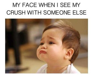 crush, baby, and funny image
