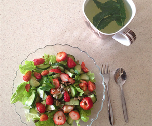 dinner, food, and health image