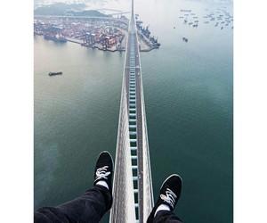 bridge, city, and photography image