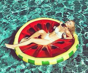 enjoy, summer, and watermelon image