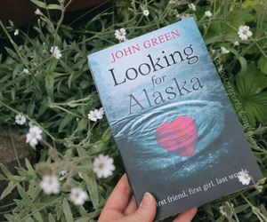 book, books, and looking for alaska image