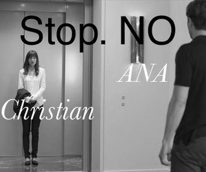 leaving, christian grey, and fifty shades of grey image