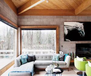 interior, design, and winter image
