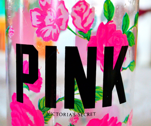 pink, Victoria's Secret, and flowers image