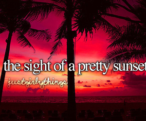 sunset, justgirlythings, and summer image