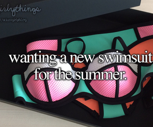 summer, swimsuit, and just girly things image