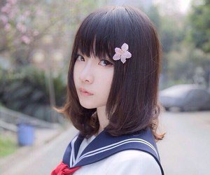 girl, japanese, and cute image
