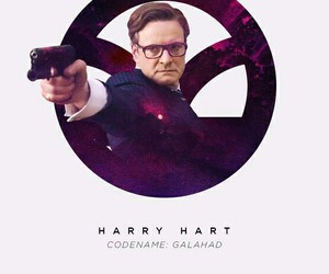 Colin Firth, galahad, and kingsman image