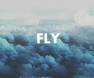 Fly Sky And Blue Image