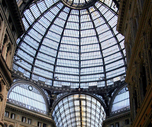 architecture, italy, and Naples image