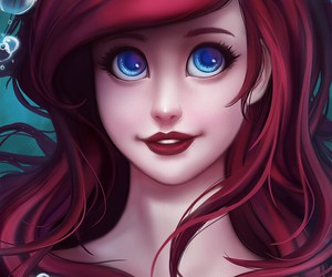 ariel and little mermaid image