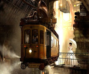 art and steampunk image