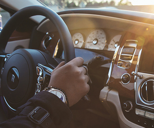 luxury, car, and men image