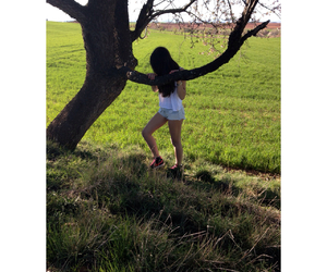 campo, girl, and nature image
