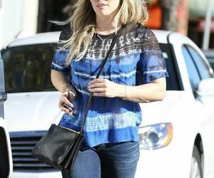 fashion, Hilary Duff, and pretty image
