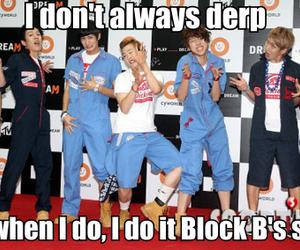 block b, zico, and derp image