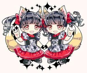 kawaii, kitsune, and babymetal image