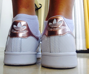 adidas, copper, and feet image