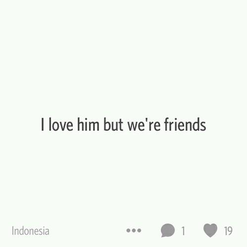 friendzone uploaded by Alya Regina on We Heart It