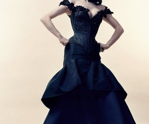 beauty, dress, and elegance image