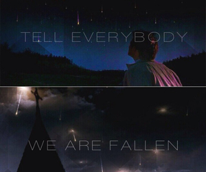 angels, dean winchester, and fallen image