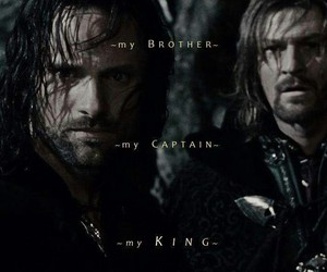 aragorn, king, and tolkien image