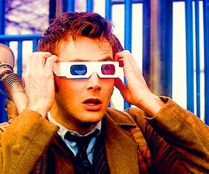 3d, 3d glasses, and doctor who image