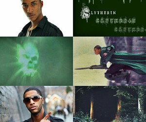 harry potter, slytherin, and blaise zabini image