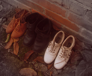 autumn, blog, and boots image