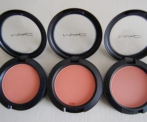 mac, makeup, and blush image