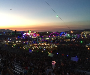 eletronic, music, and festival image
