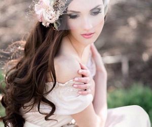 beautiful, bridal, and bouquet image