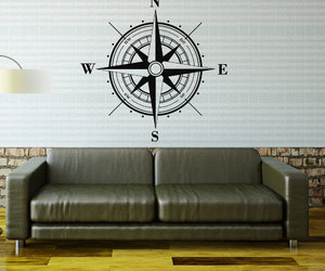 living room decal, nursery decor, and bedroom wall decal image