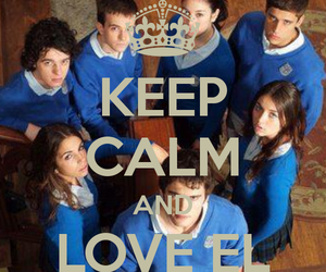 series, spain, and keep calm and image