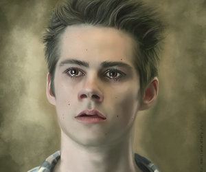 boy, teen wolf, and the maze runner image