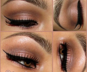 eyeliner, makeup, and romantic image