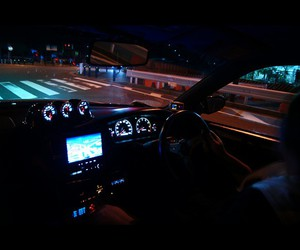 car, night, and luxury image