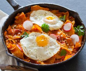 food, chilaquiles, and egg image