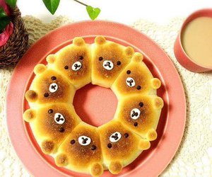 baker, bread, and rilakkuma image