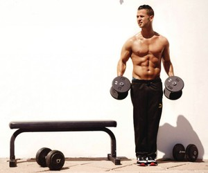 celeb, fitness, and situation image