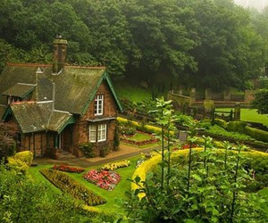 house, scotland, and garden image