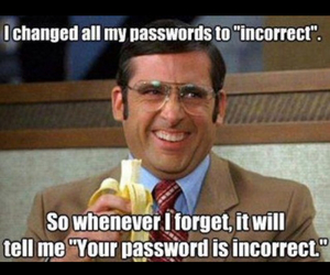 funny, meme, and password image