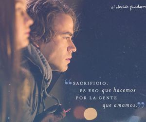 if i stay, si decido quedarme, and movie image