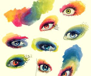art, colorful, and crazy image