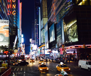 times square and travel image