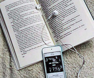 book, music, and one direction image