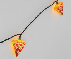 lights, pizza, and fumiko kawa image