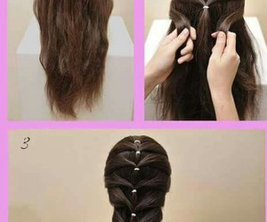 cabelo, hair, and totorial image