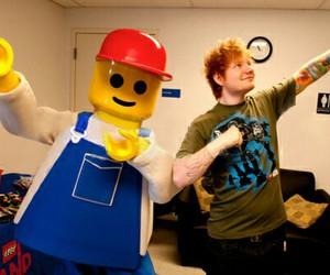 ed sheeran, lego, and lego house image